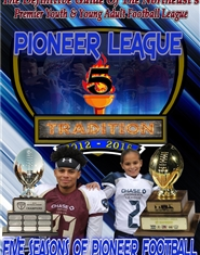 Pioneer Football League 5th Anniversary Program cover image