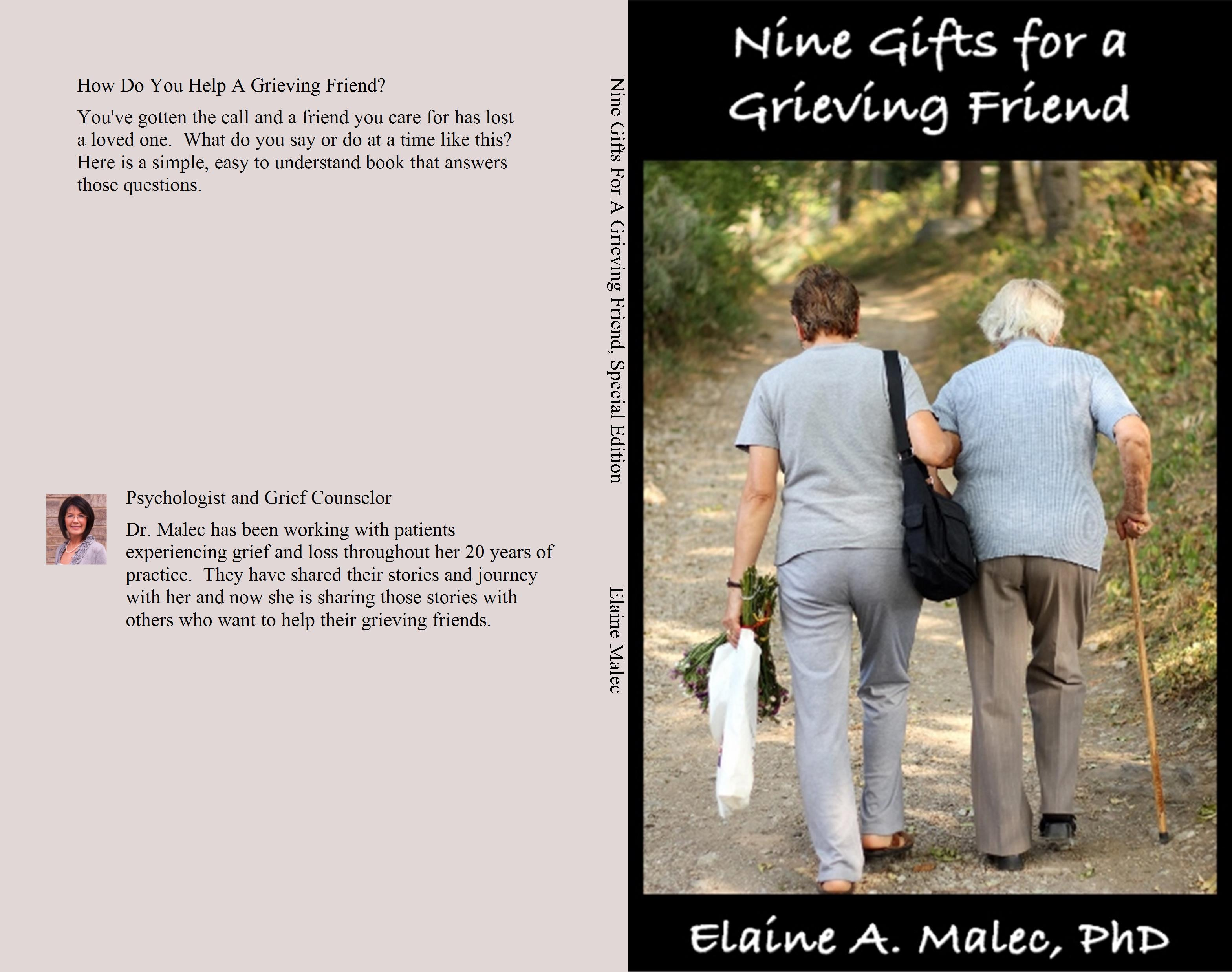 Nine Gifts For A Grieving Friend, Special Edition cover image