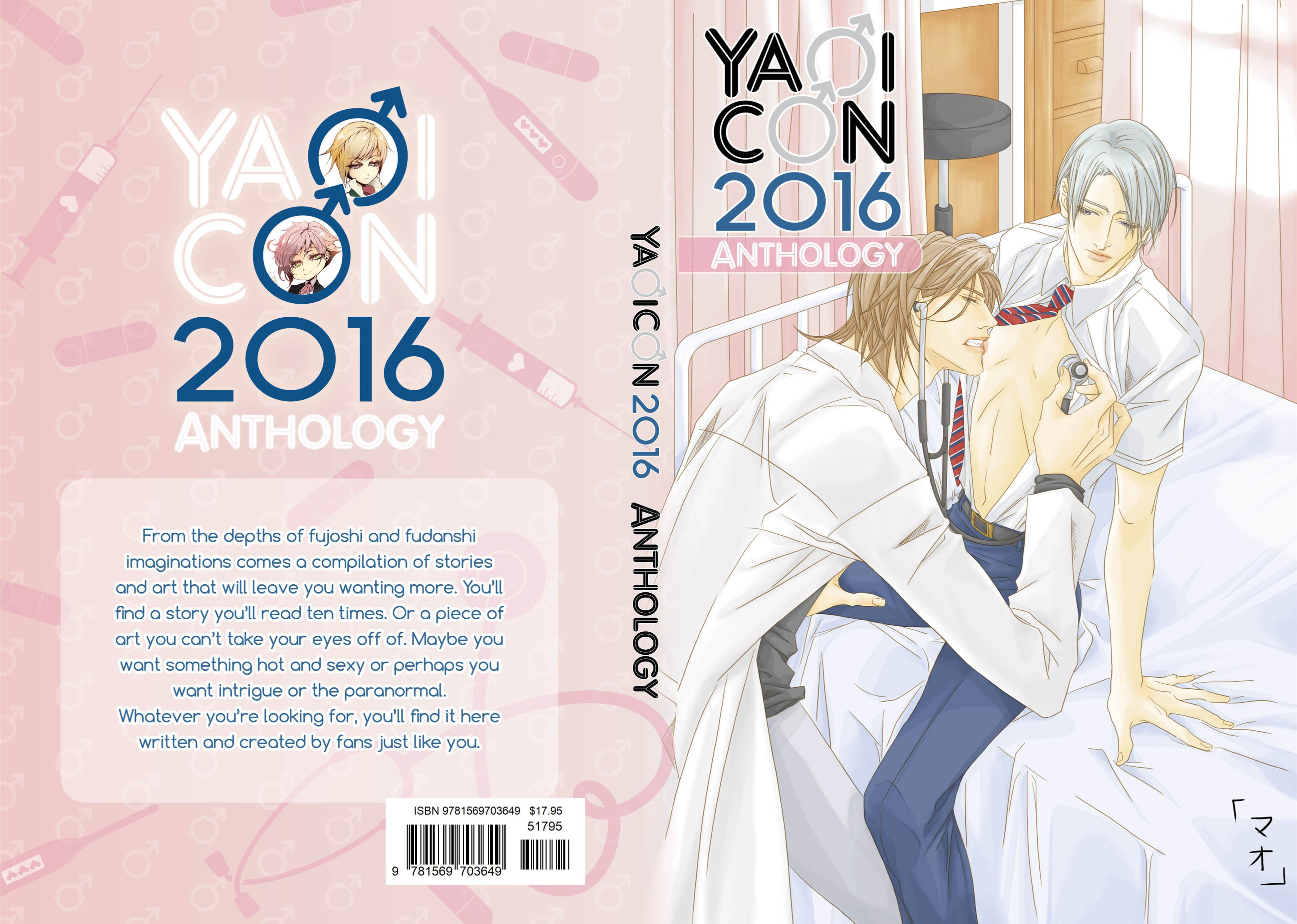 YaoiCon 2016 Anthology cover image