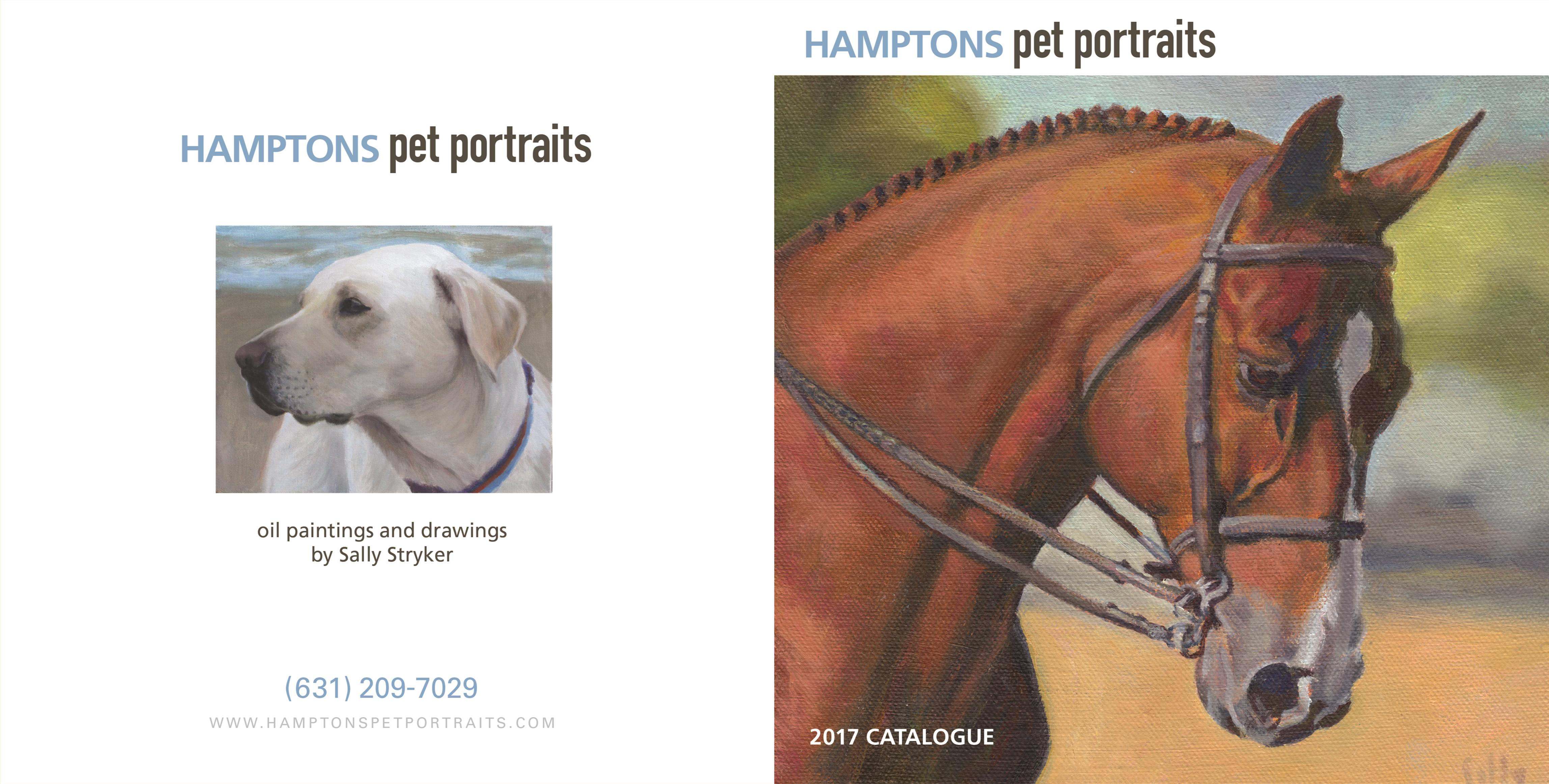 2016 Catalogue Hamptons Pet Portraits - Horses cover image