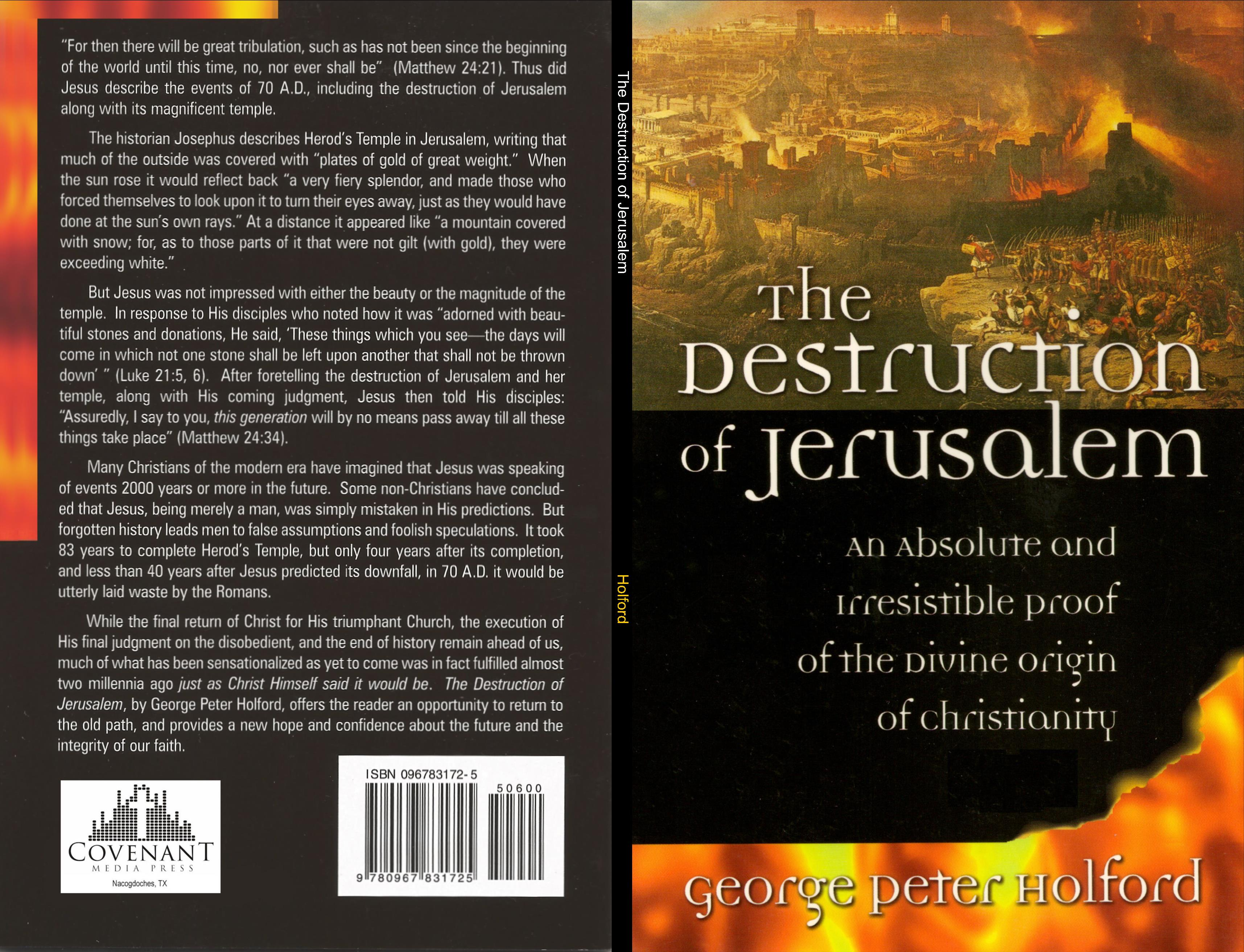 The Destruction of Jerusalem cover image