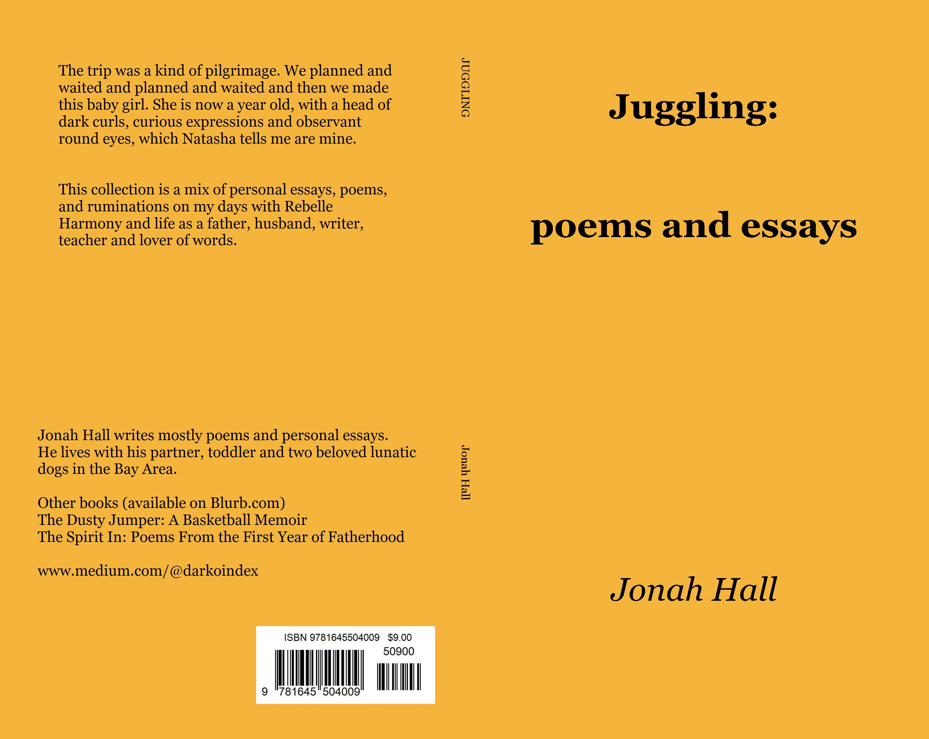 Juggling: Poems and Ruminations on Life with a Toddler cover image