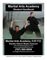 Martial Arts Academy Student Handbook cover image