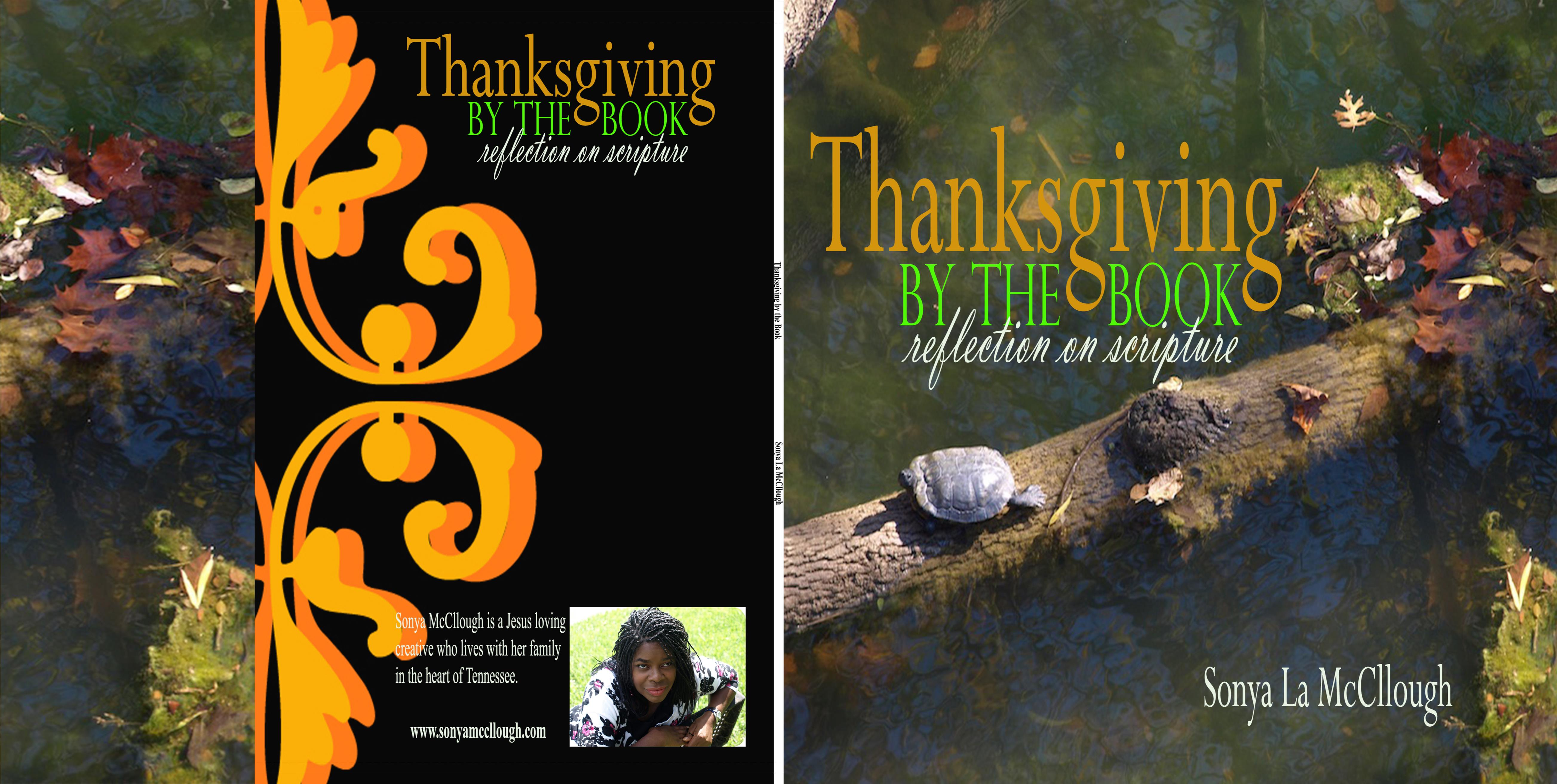Thanksgiving by the book cover image