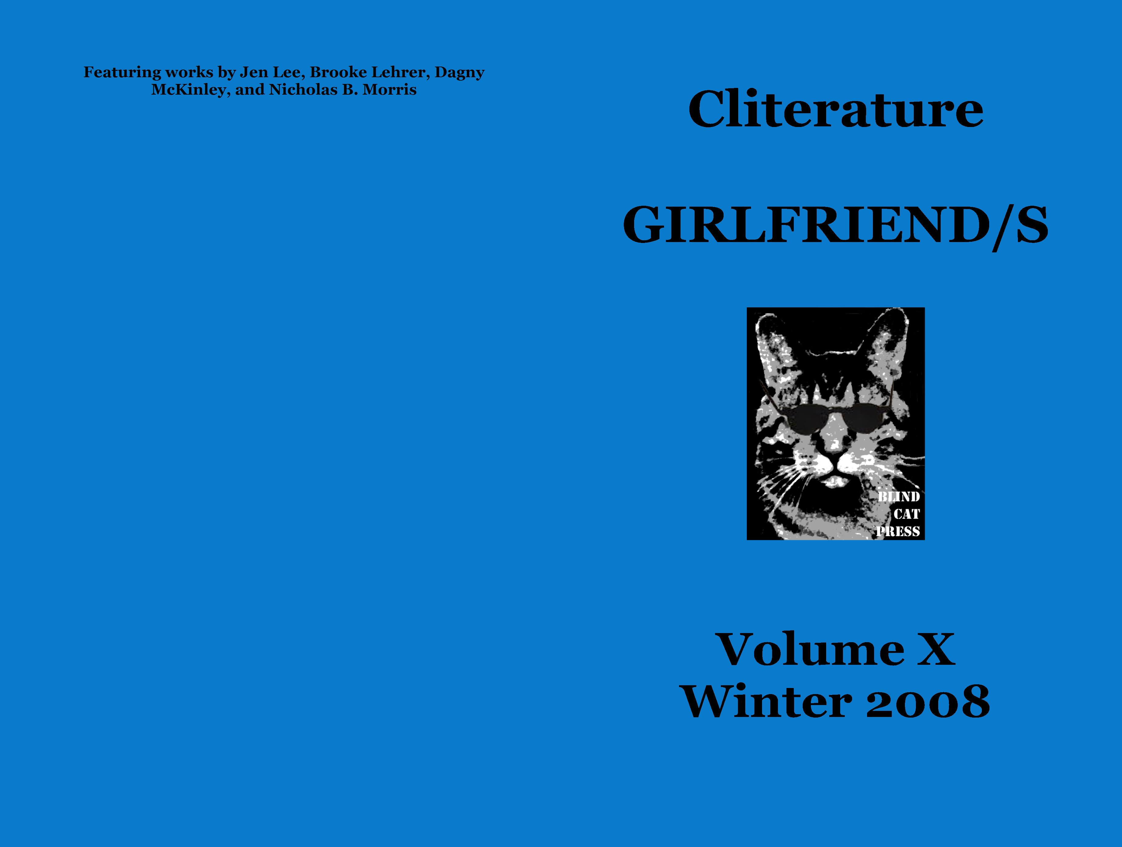 Cliterature GIRLFRIEND/S cover image