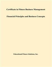 Certificate in Fitness Business Management Financial Principles and Business Concepts cover image