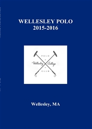 WELLESLEY POLO 2015-2016 cover image
