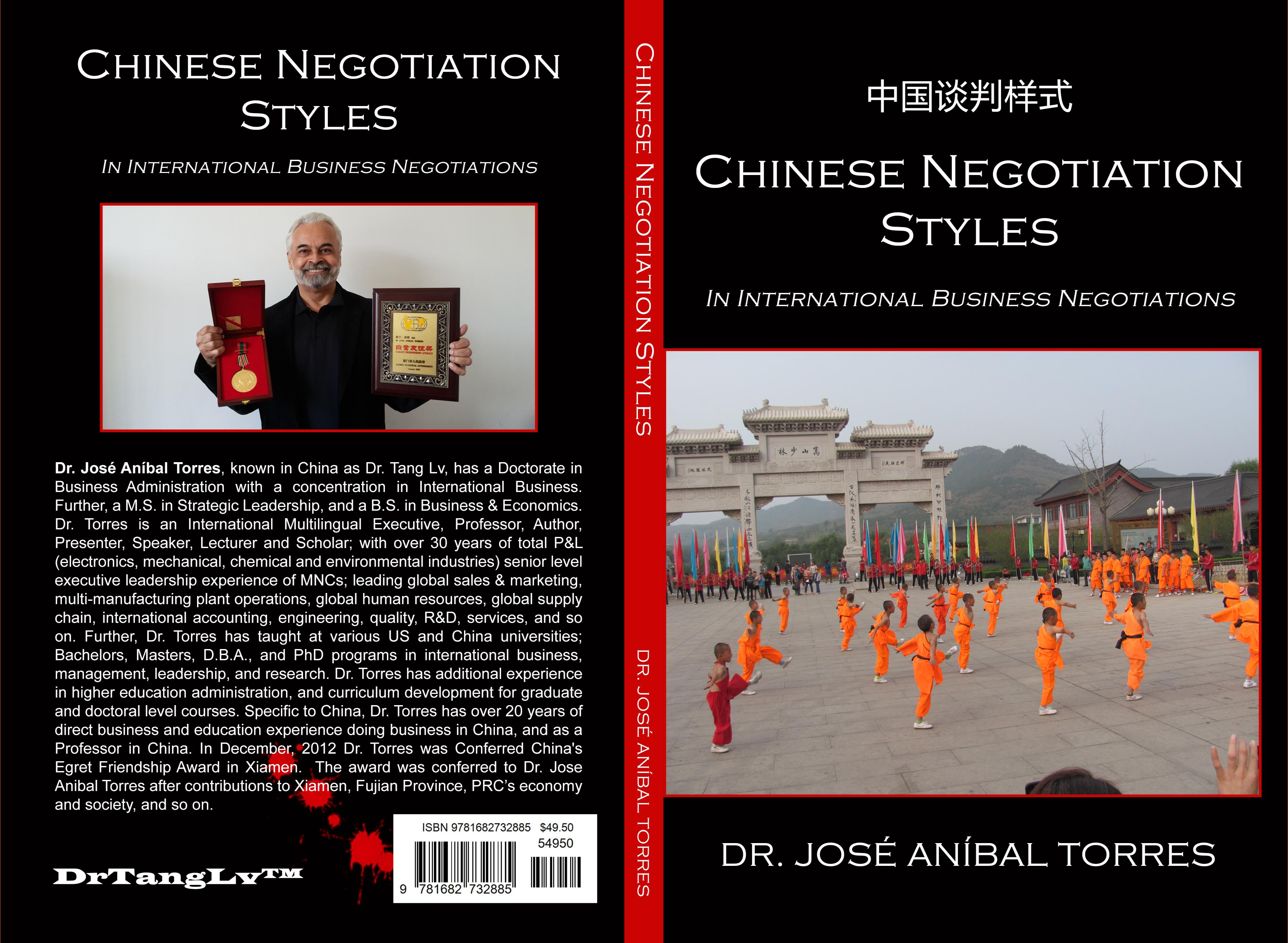 Chinese Negotiation Styles In International Business Negotiations cover image