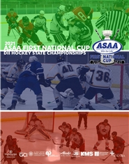2021 ASAA First National Cup D2 Hockey State Championship Program cover image