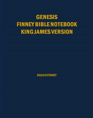 Genesis Finney Bible Notebook cover image