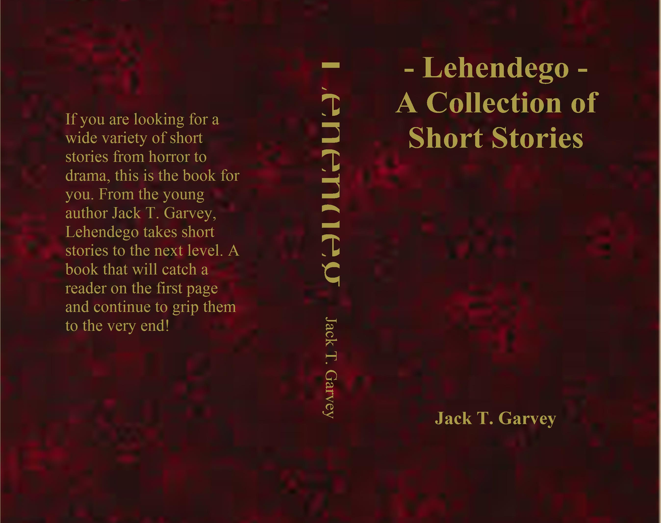 - Lehendego - A Collection of Short Stories cover image
