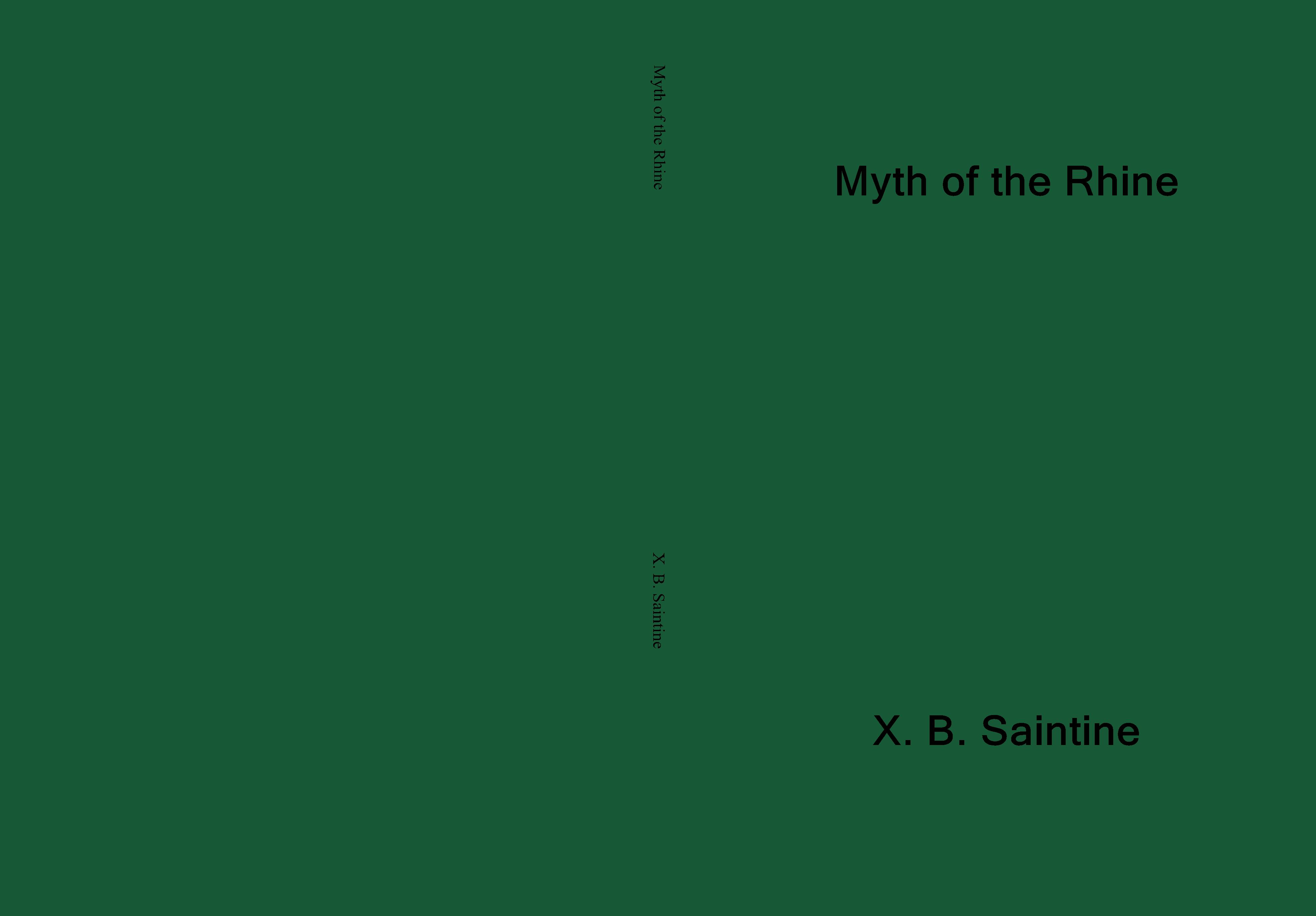 Myth of the Rhine cover image