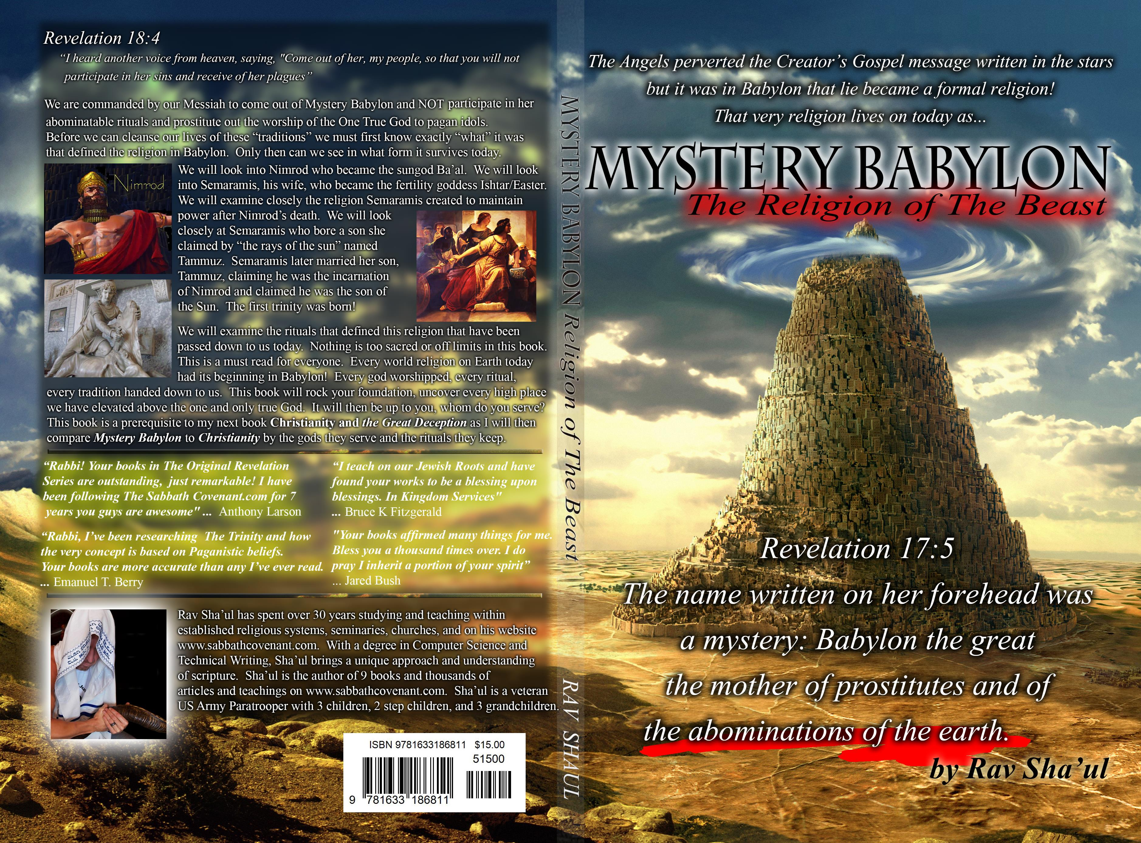 Mystery Babylon the religion of The Beast cover image