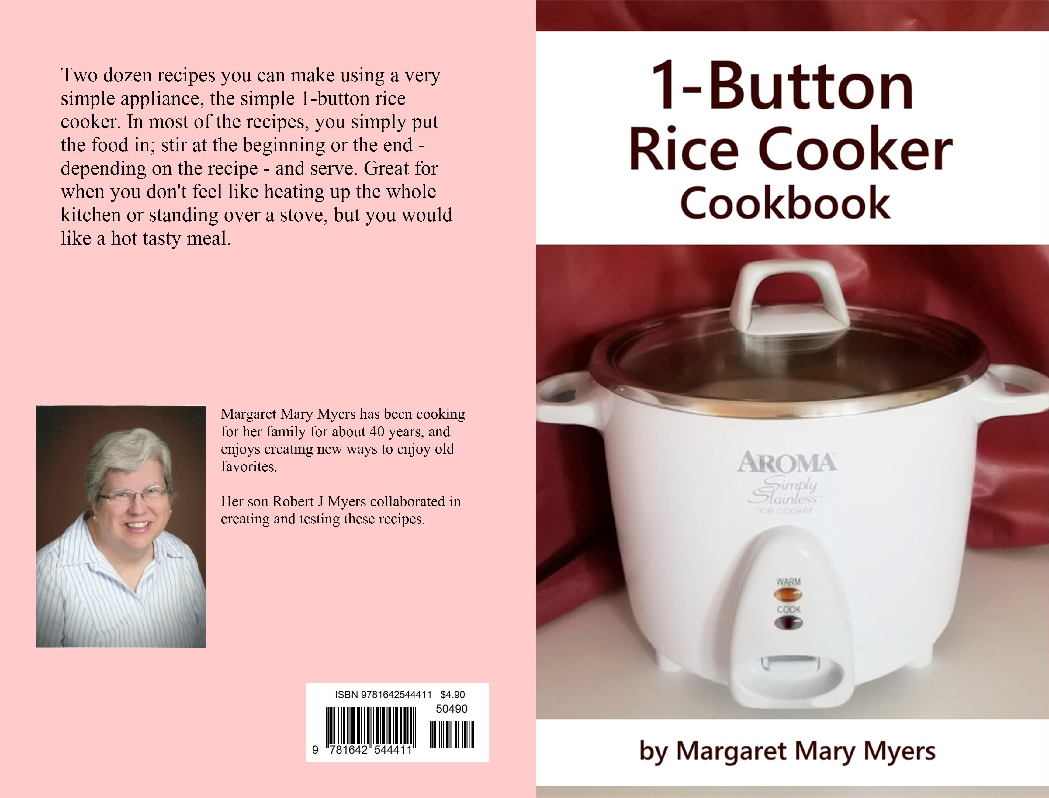 1-Button Rice Cooker Cookbook cover image