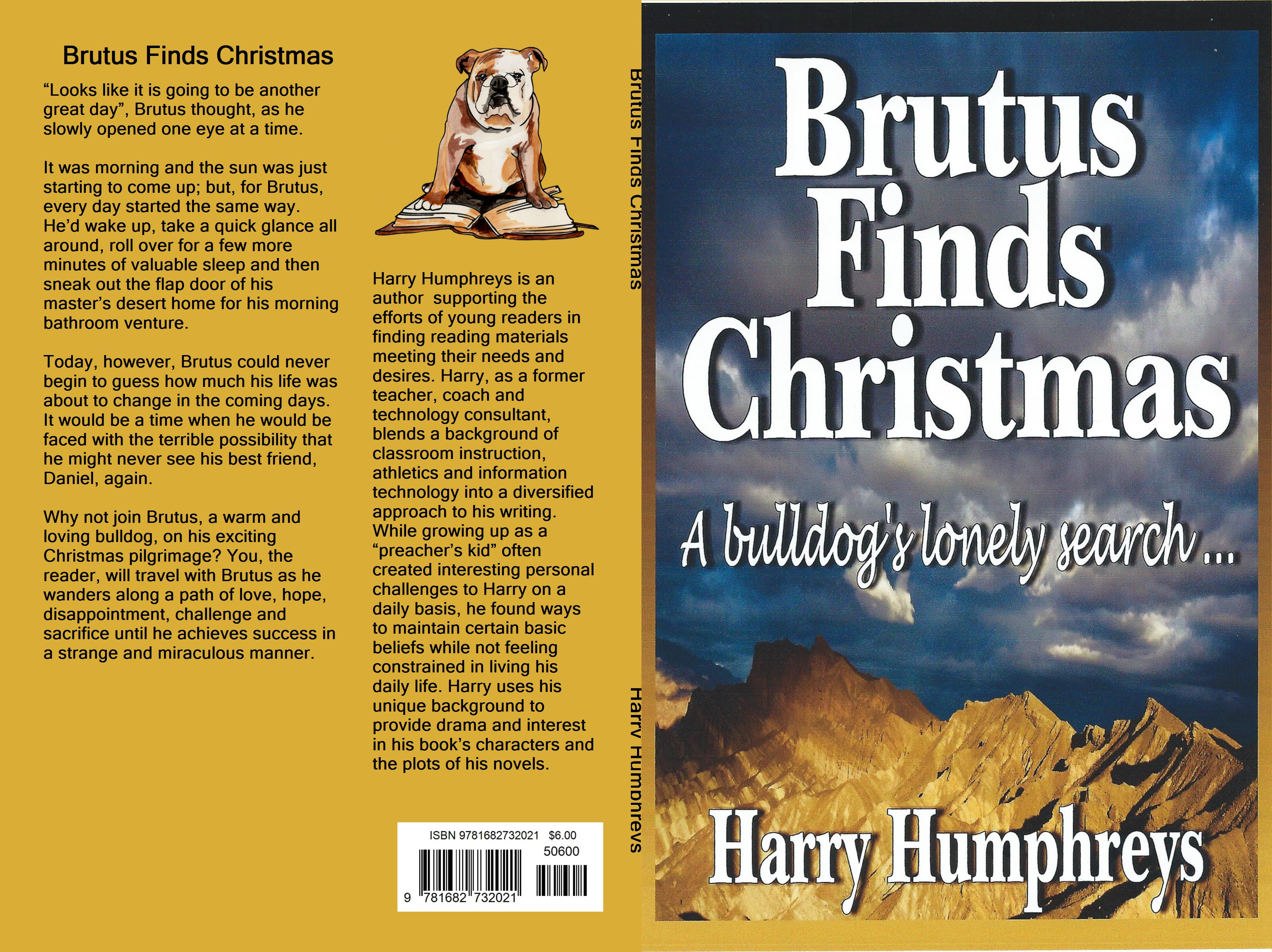 Brutus Finds Christmas cover image