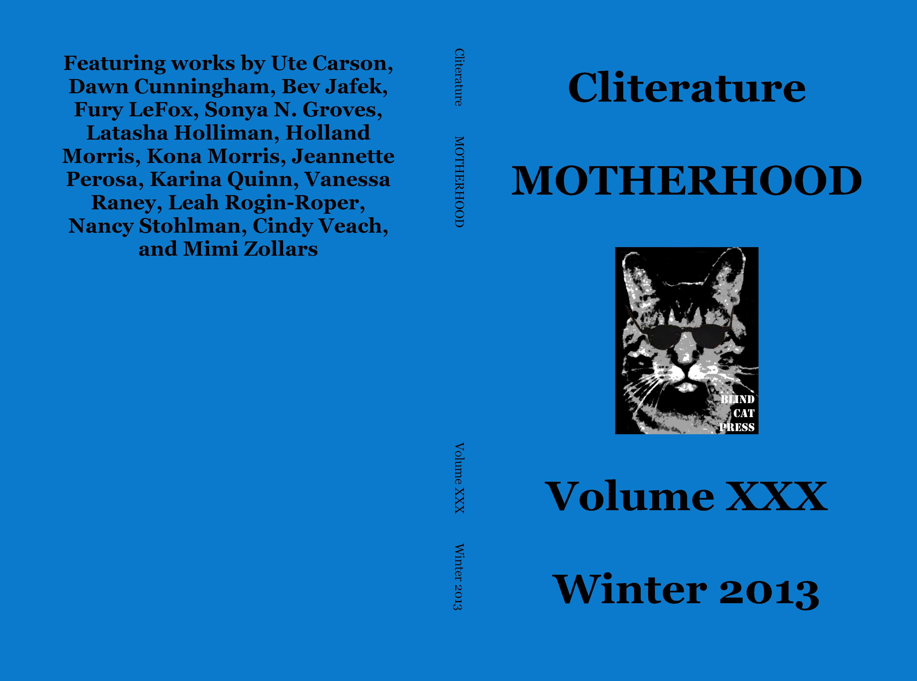 Cliterature MOTHERHOOD cover image