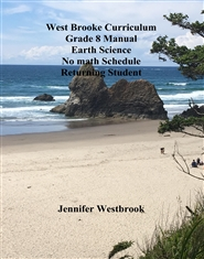 West Brooke Curriculum Grade 8 Manual Earth Science No math Schedule Returning Student cover image