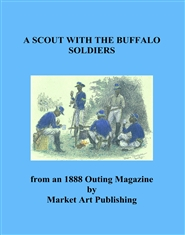 A SCOUT WITH THE BUFFALO SOLDIERS cover image