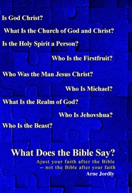 029. What Does the Bible Say? cover image