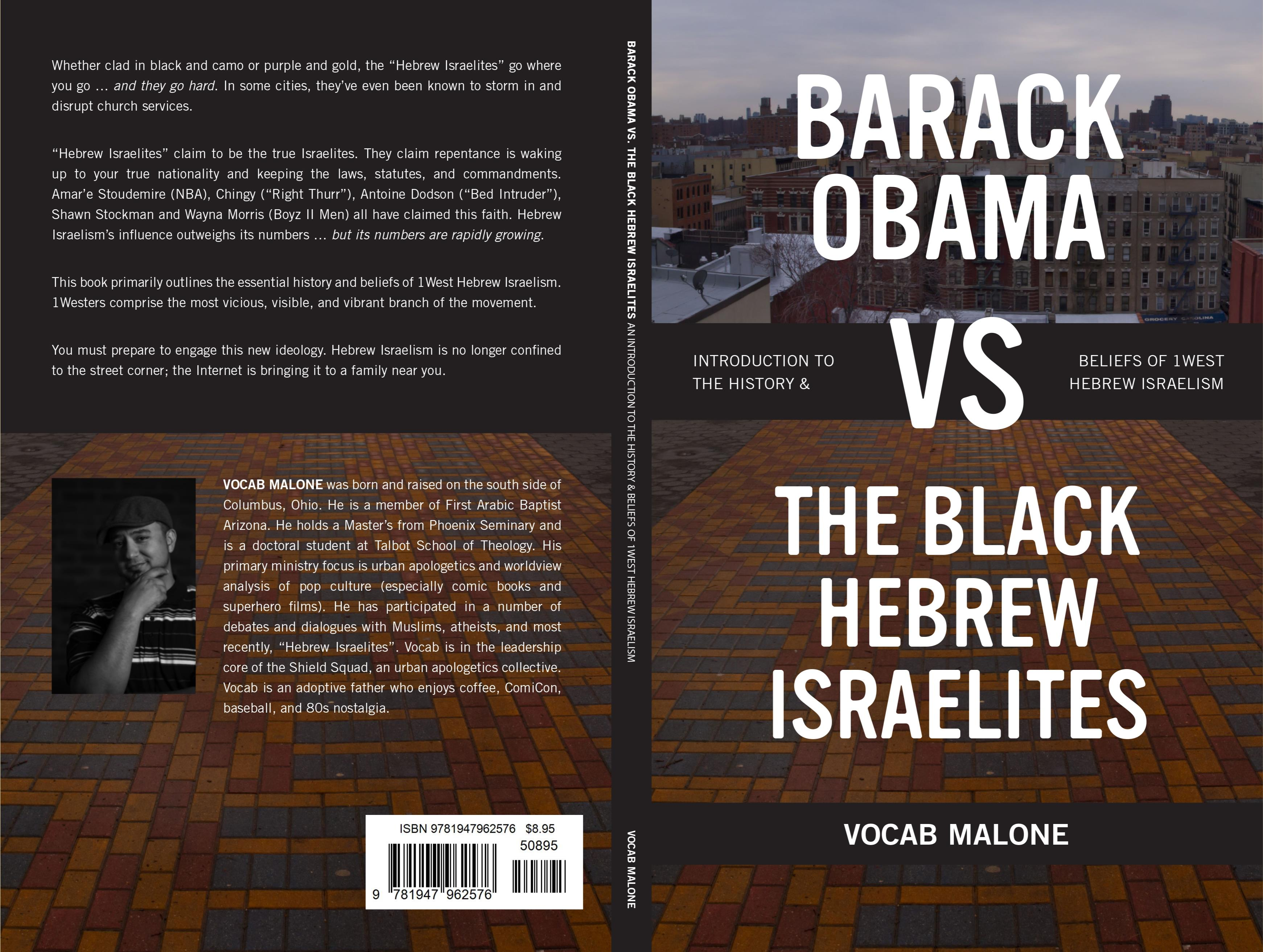 BARACK OBAMA vs THE BLACK HEBREW ISRAELITES cover image