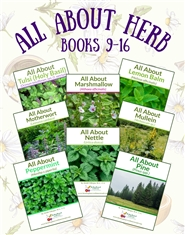 All About Herbs Books 9-16 cover image