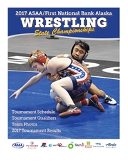 2017 ASAA/First National Bank Alaska Wrestling State Championship Program cover image