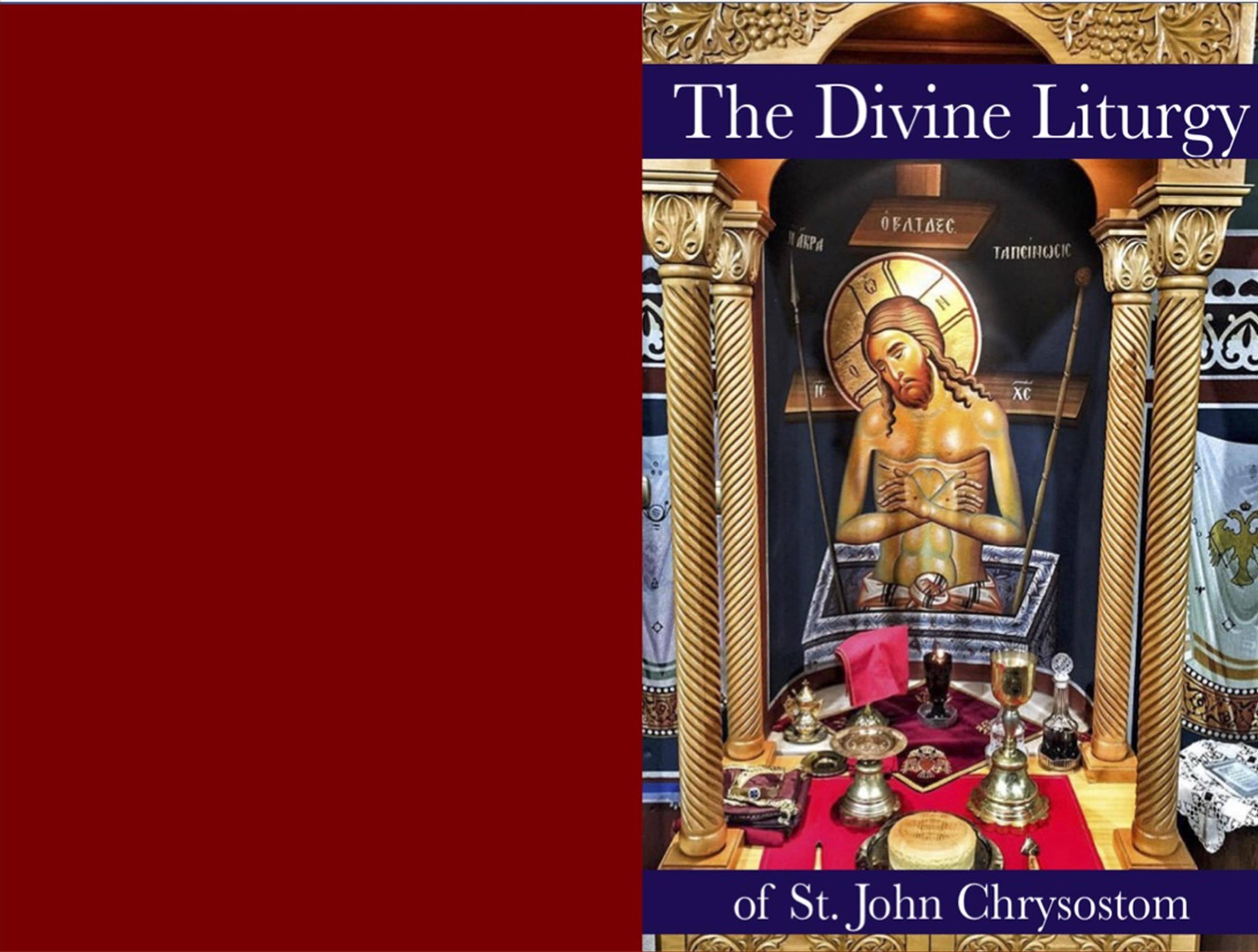 The Divine Liturgy cover image