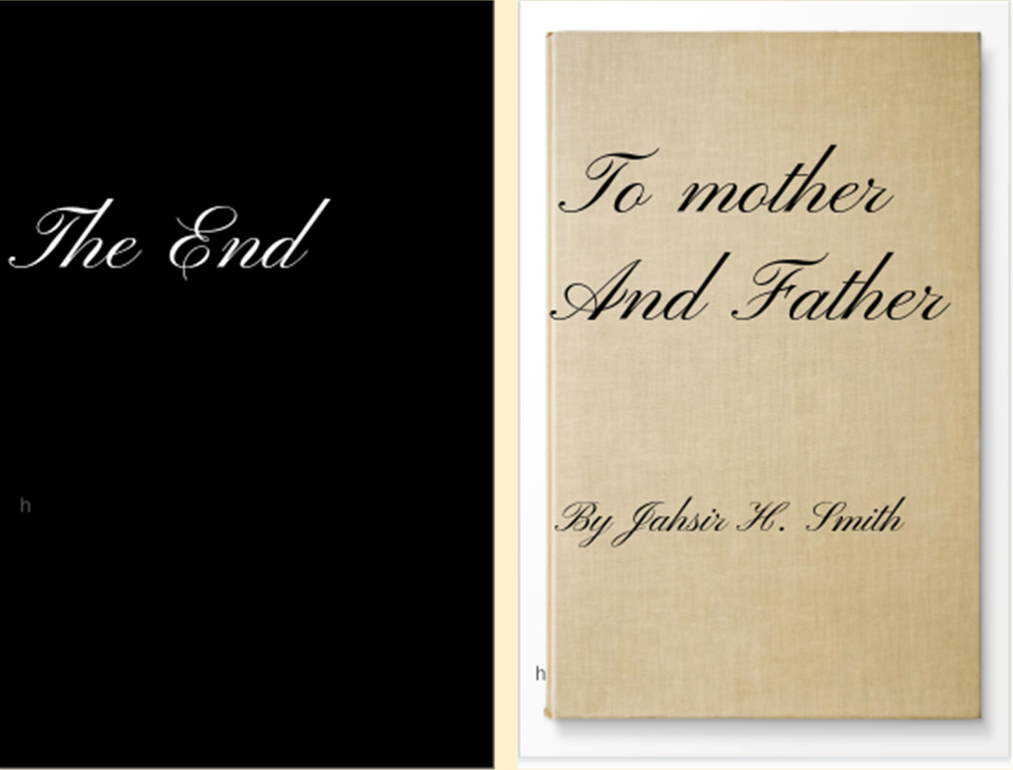 To mother and father cover image