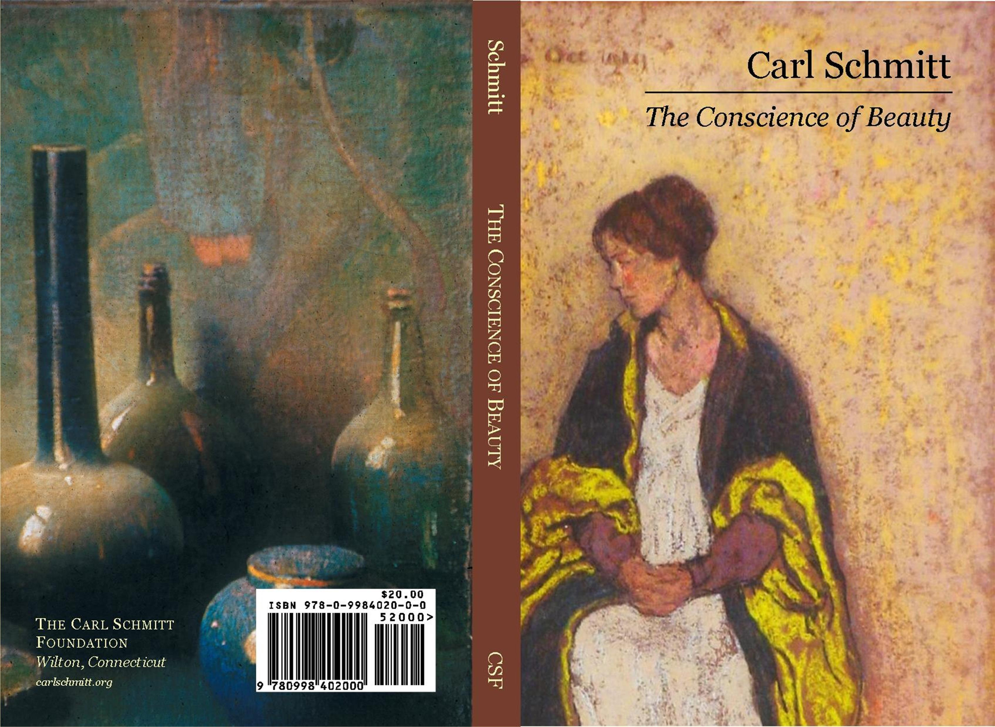 Carl Schmitt: The Conscience of Beauty cover image