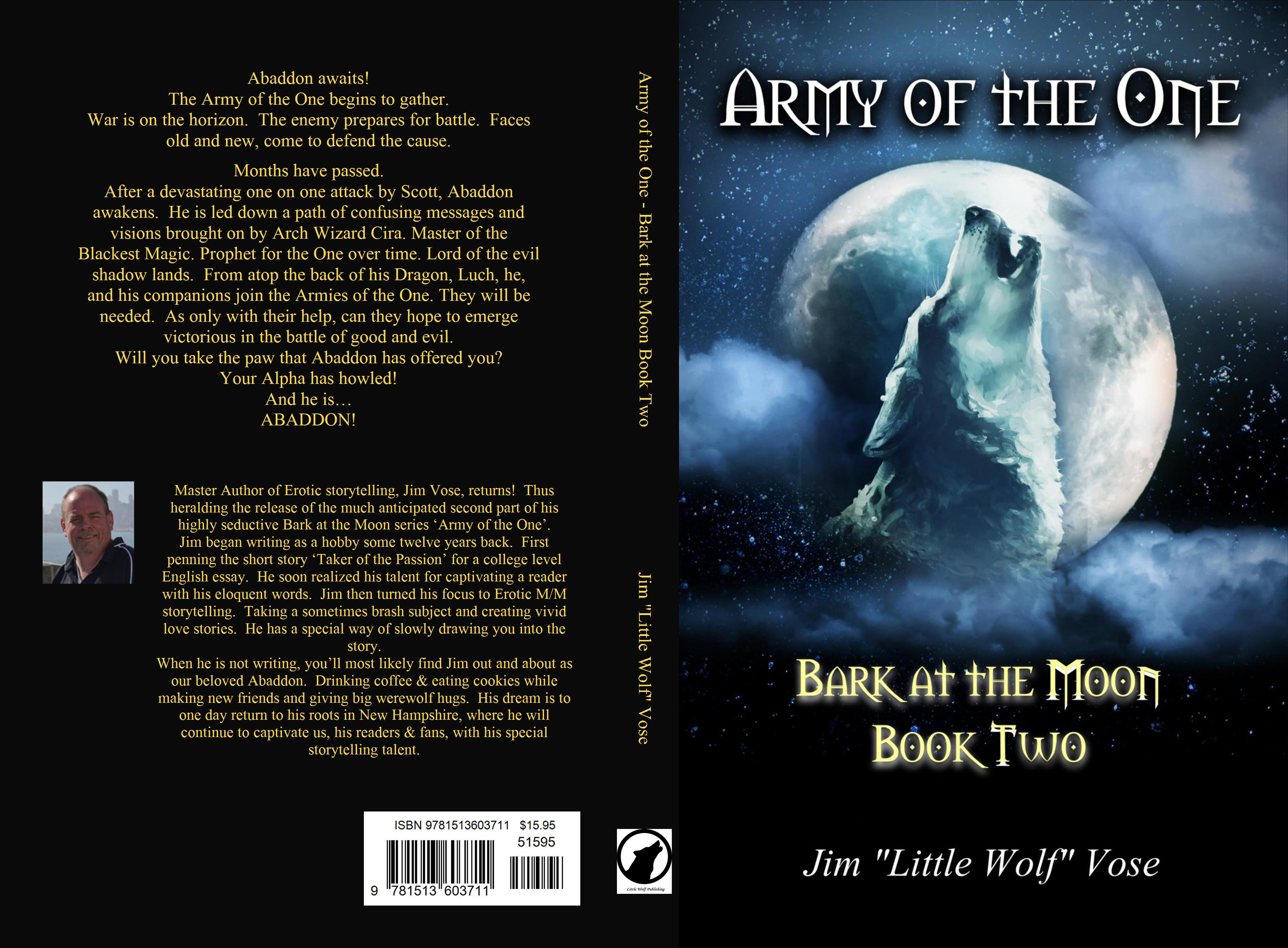 Army Of The One  Bark At The Moon Book Two Cover Image