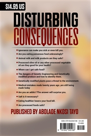 DISTURBING CONSEQUENCES cover image