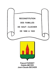 Reconstitution des familles de Haut-Clocher / The families of Haut-Clocher cover image