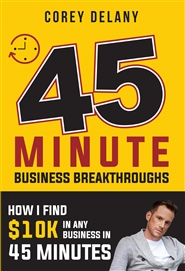 45 Minute Business Breakthroughs cover image