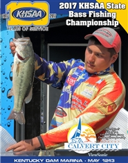 2017 KHSAA Bass Fishing State Championship Program cover image