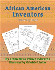African American Inventors Coloring Book cover image
