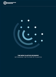 The New Plastics Economy: Rethinking the Future of Plastics cover image