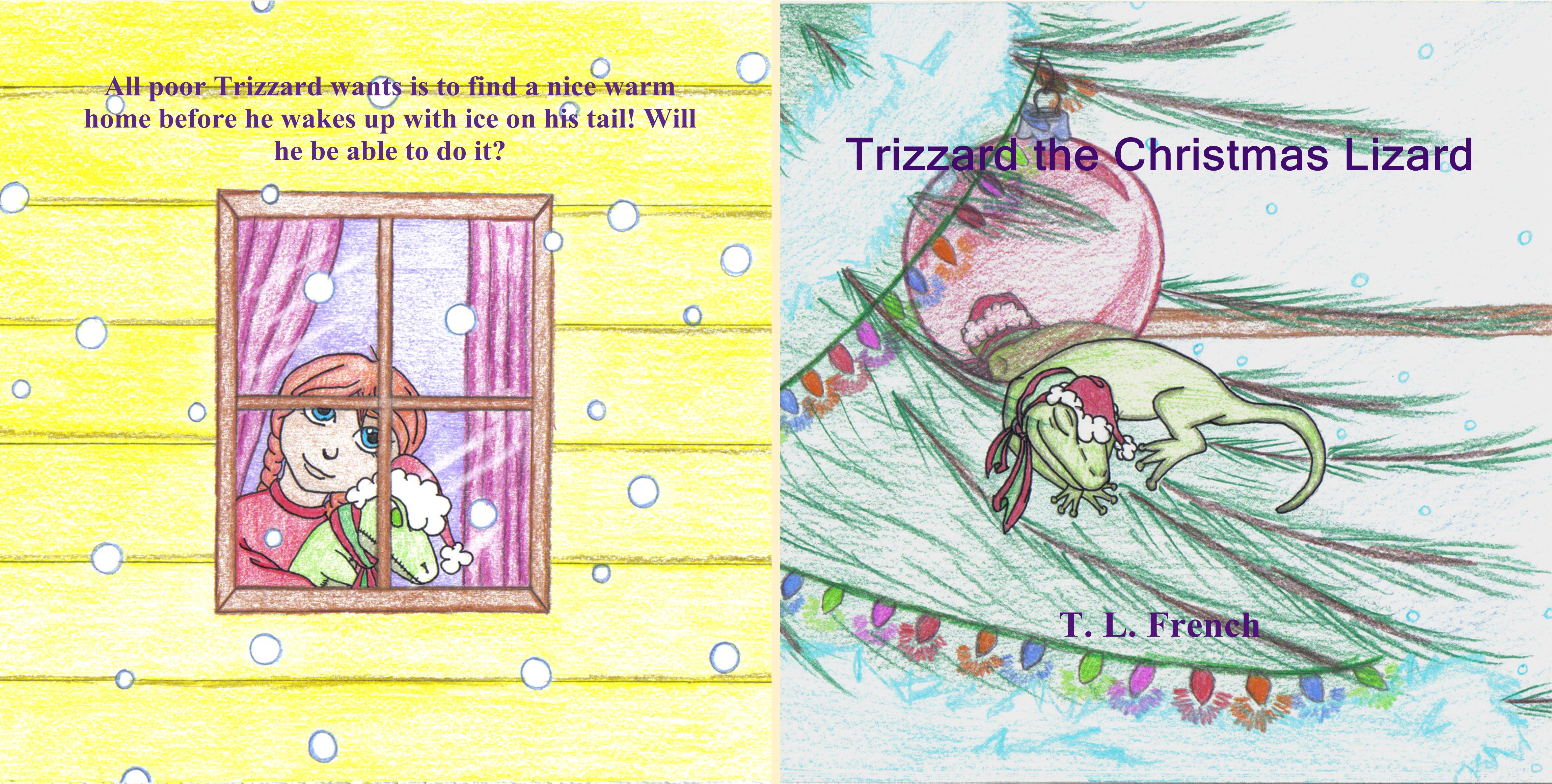Trizzard the Christmas Lizard cover image