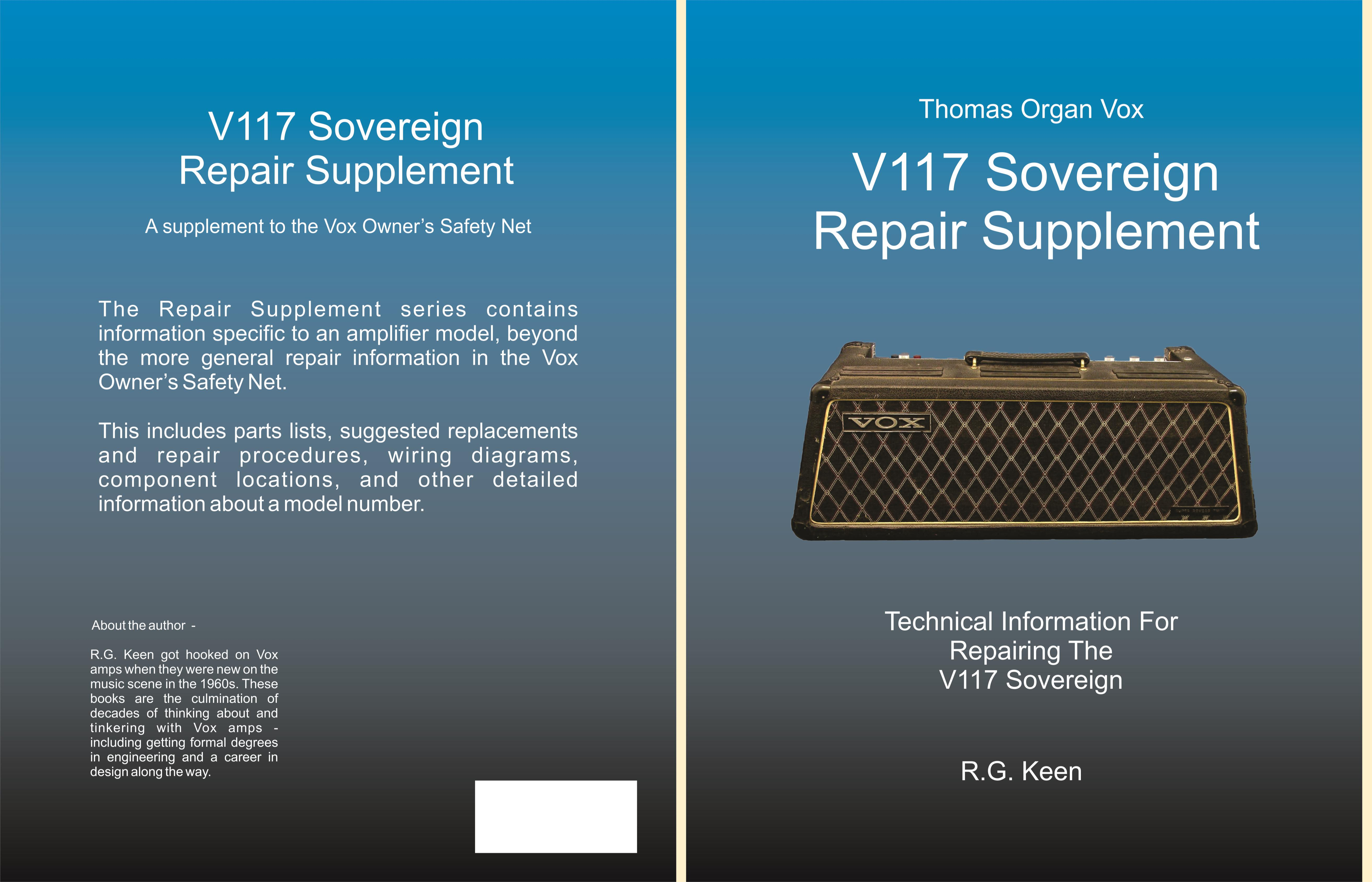 V117 Sovereign Repair Supplement cover image