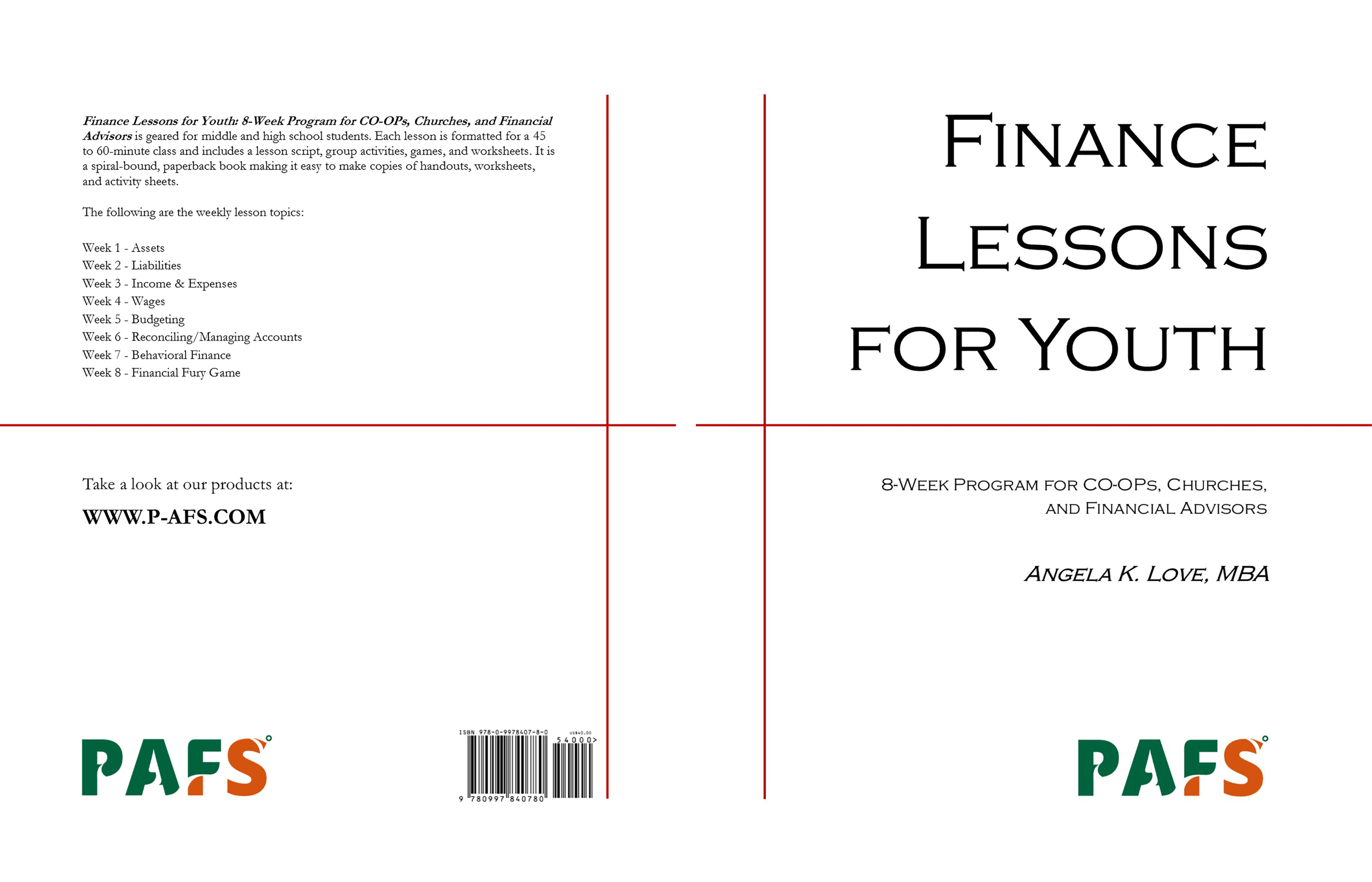 Finance Lessons for Youth by Angela Love $40 00 TheBookPatch