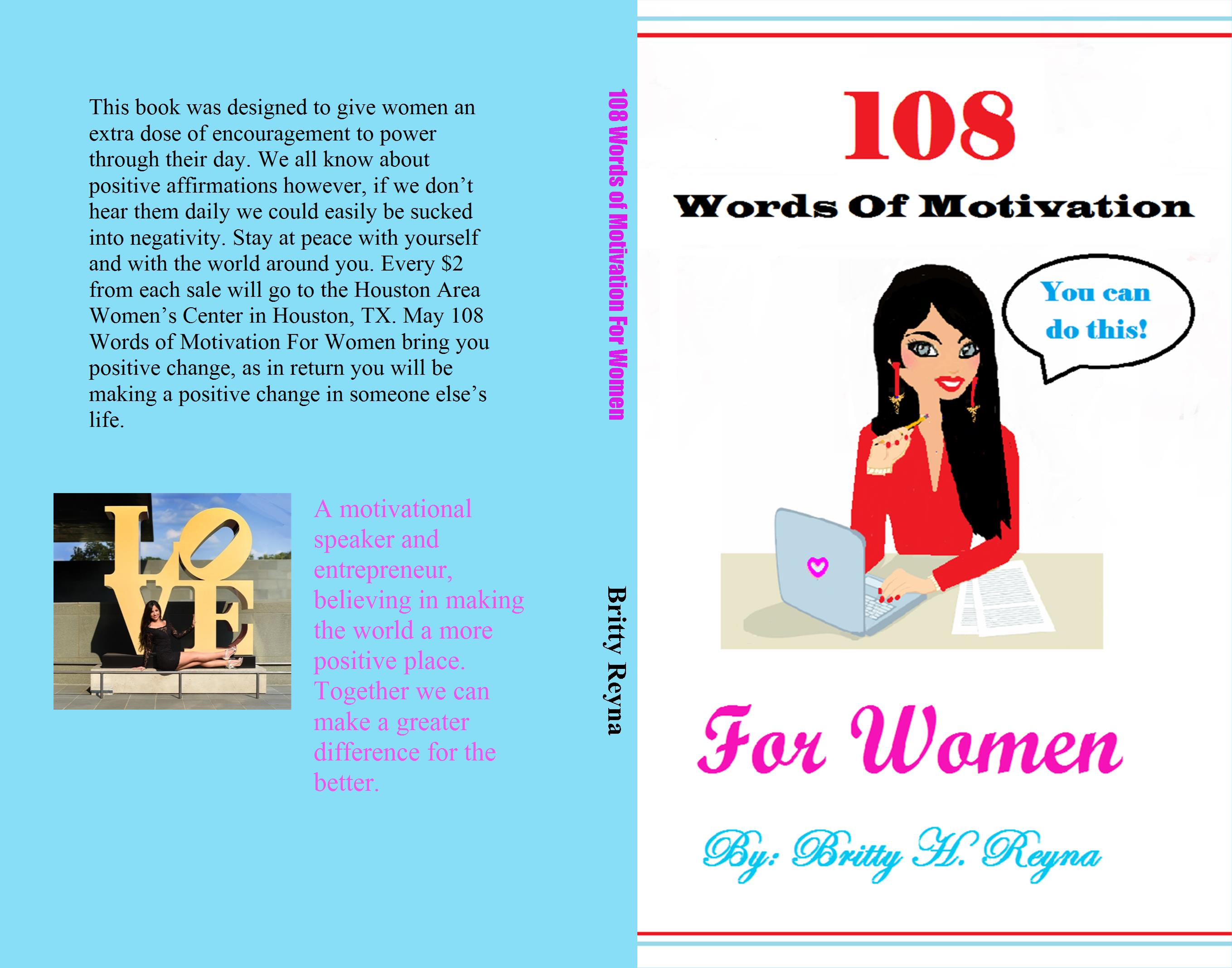 108 Words of Motivation For Women cover image