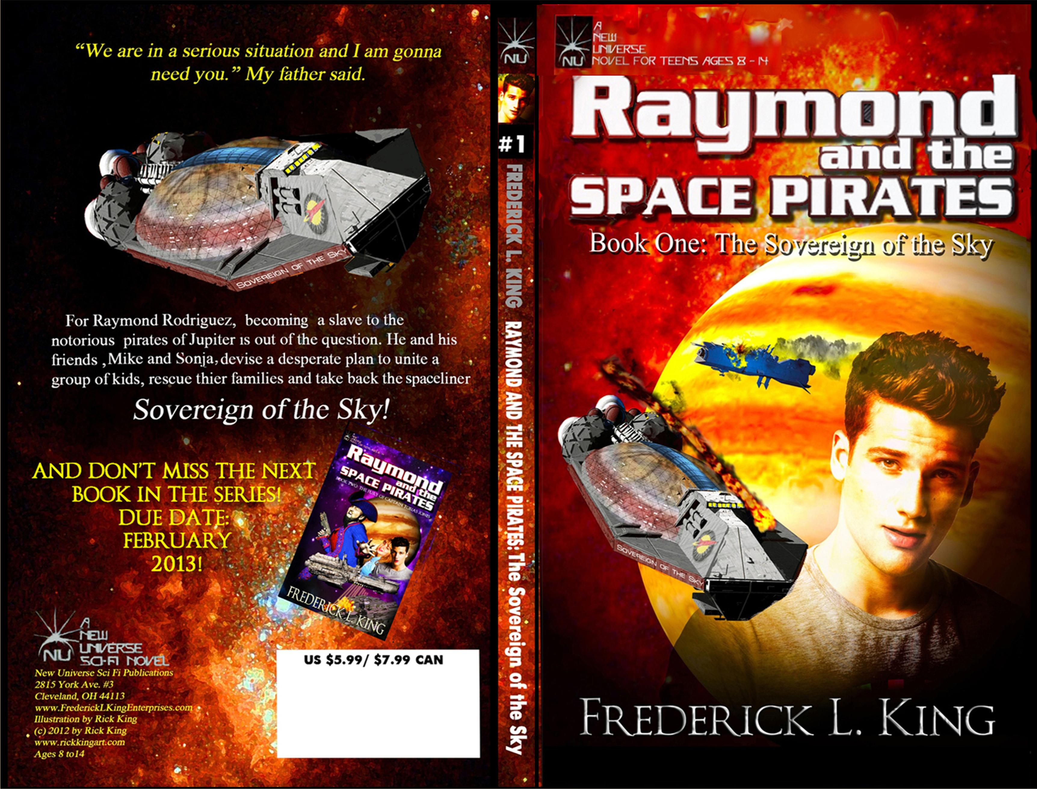 Raymond And The Space Pirates: The Sovereign of the Sky cover image