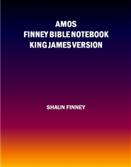 Amos KJV Finney Bible Notebook cover image