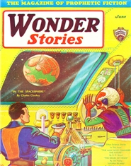 Wonder Stories 1931 June cover image