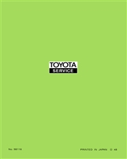 Toyota 20R manual cover image