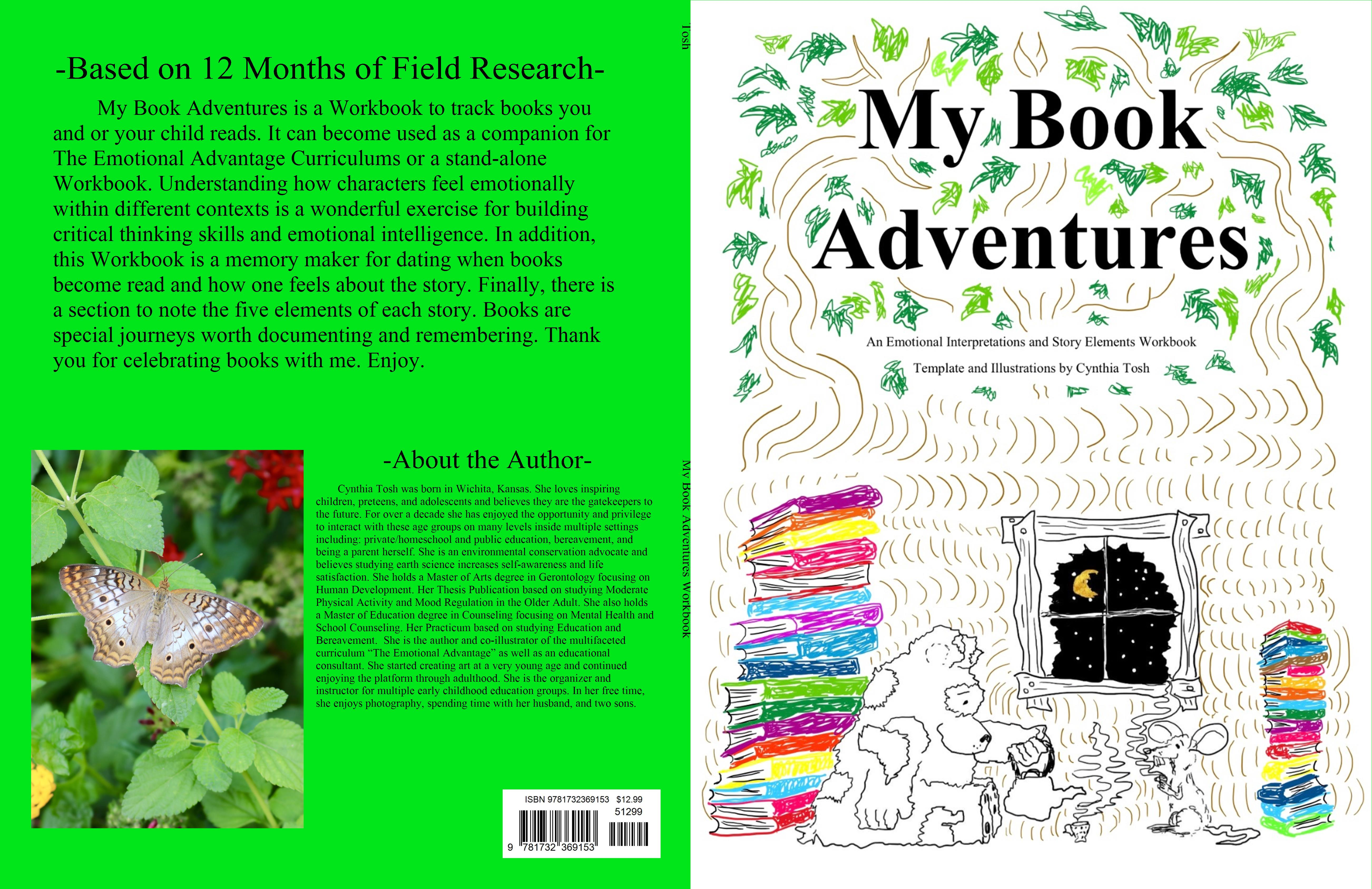 My Book Adventures Workbook cover image