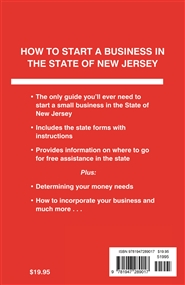 How to Start a Business in the State of New Jersey cover image