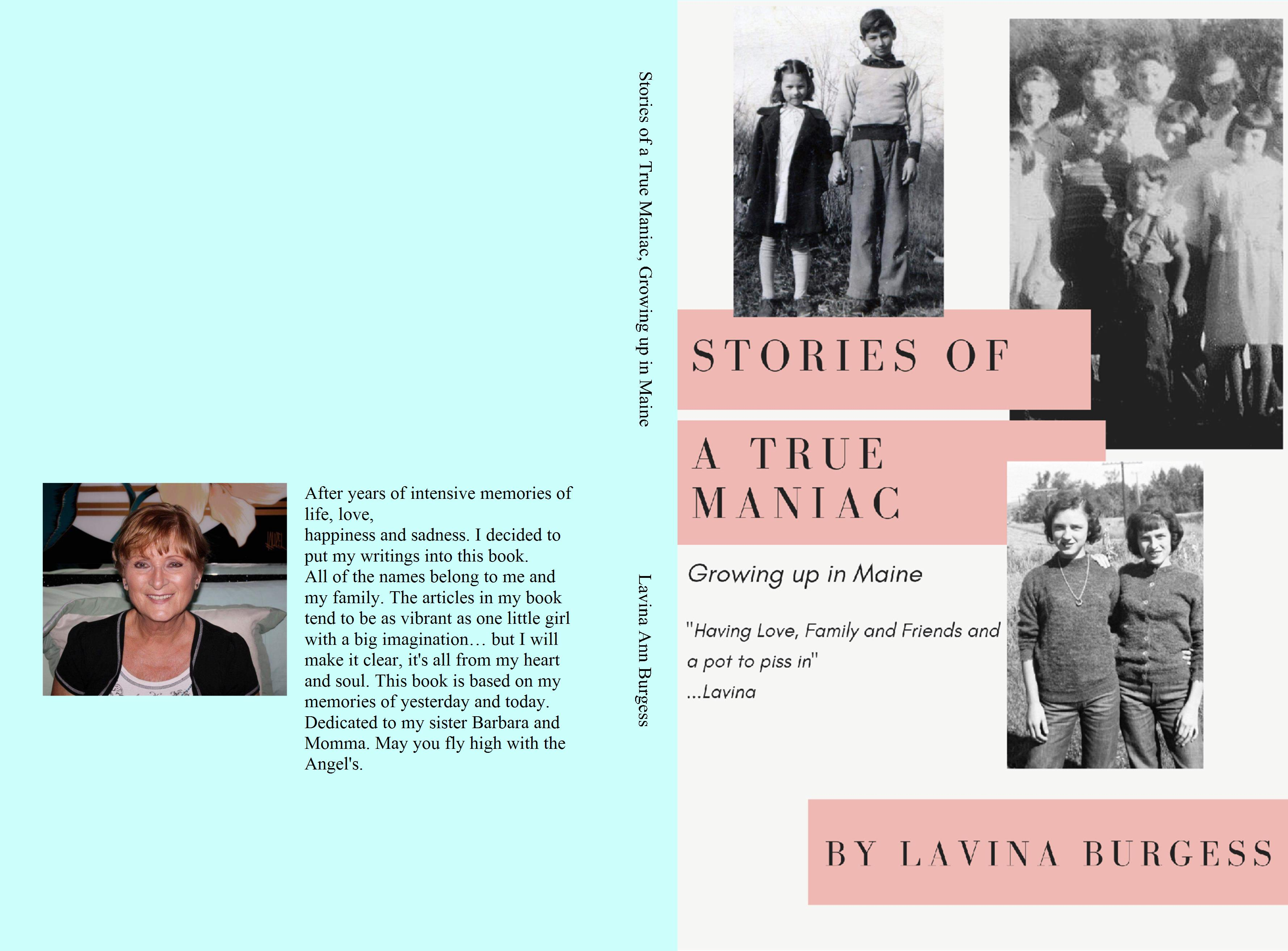 Stories from a True Maniac, Growing up in Maine cover image