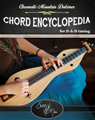 Chromatic Mountain Dulcimer Chord Encyclopedia cover image