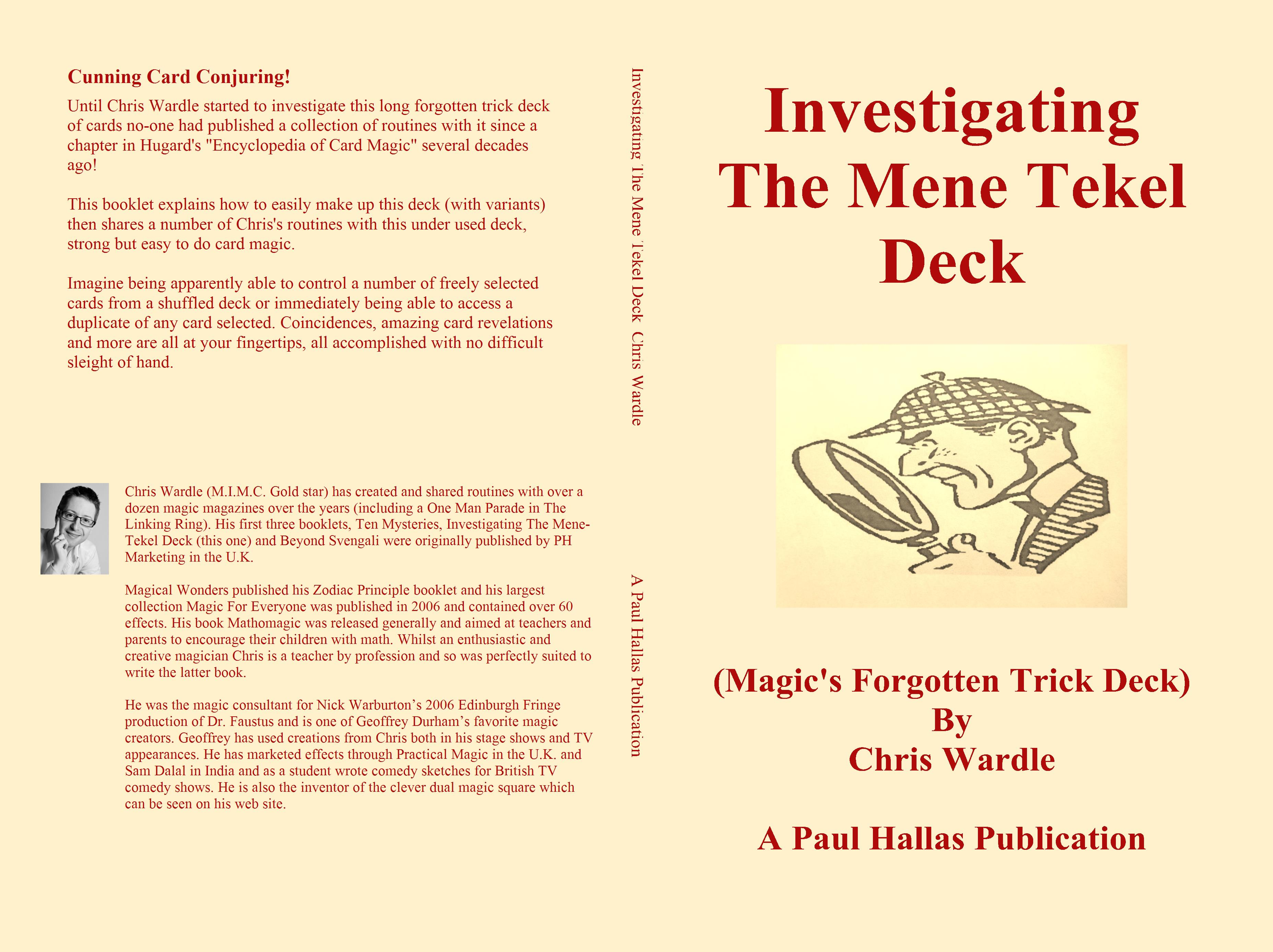 Investigating The Mene Tekel Deck cover image