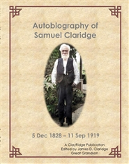 Autobiography of Samuel Claridge cover image